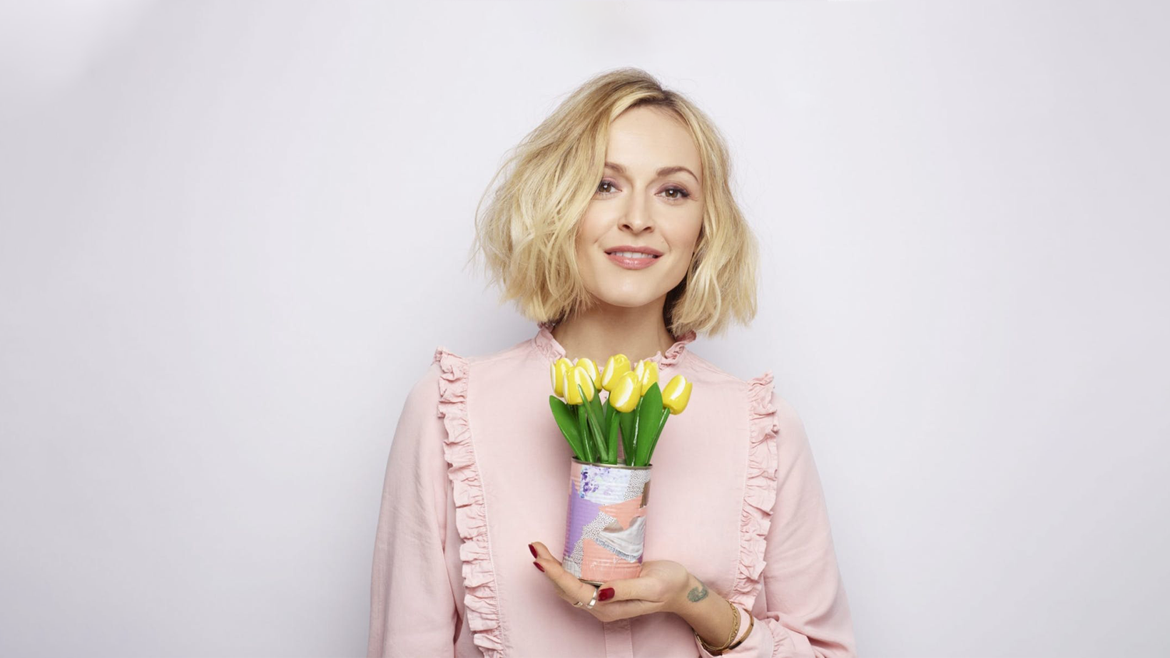 Fearne Cotton in colourful clothes